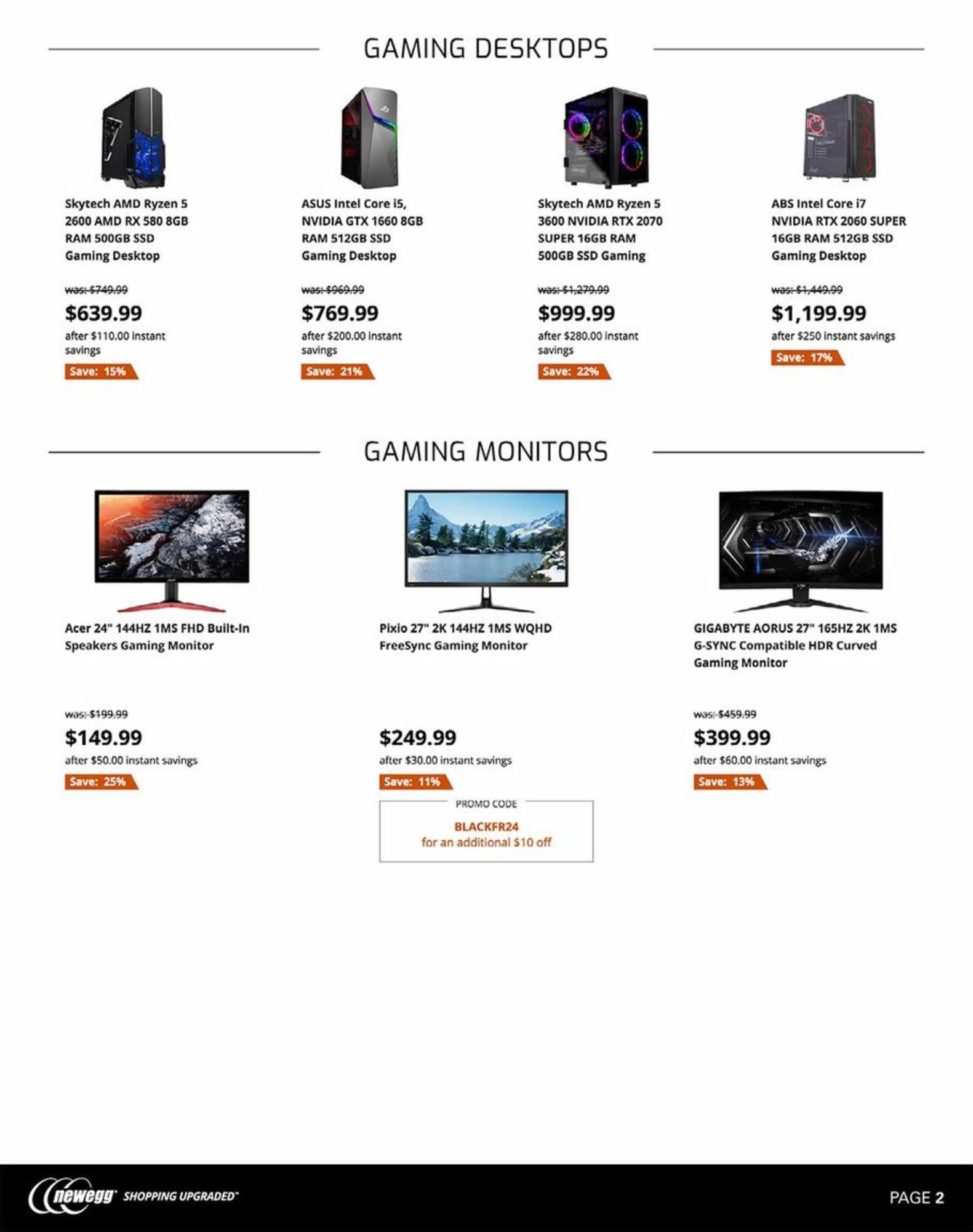 Newegg Black Friday 2019 Ad & Deals | Brad's Deals