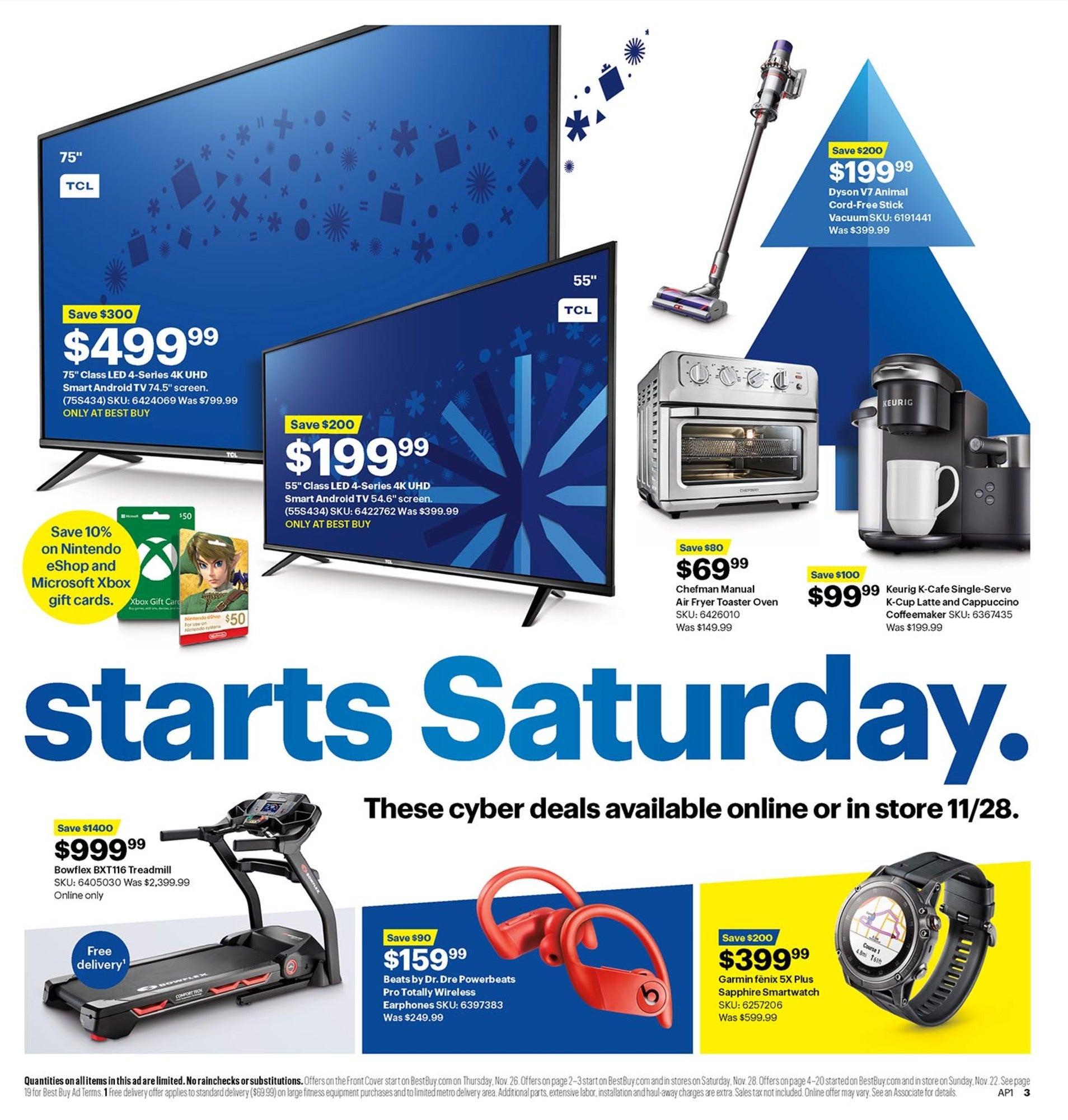 Best Buy Black Friday 2020 Ad Deals Brad S Deals