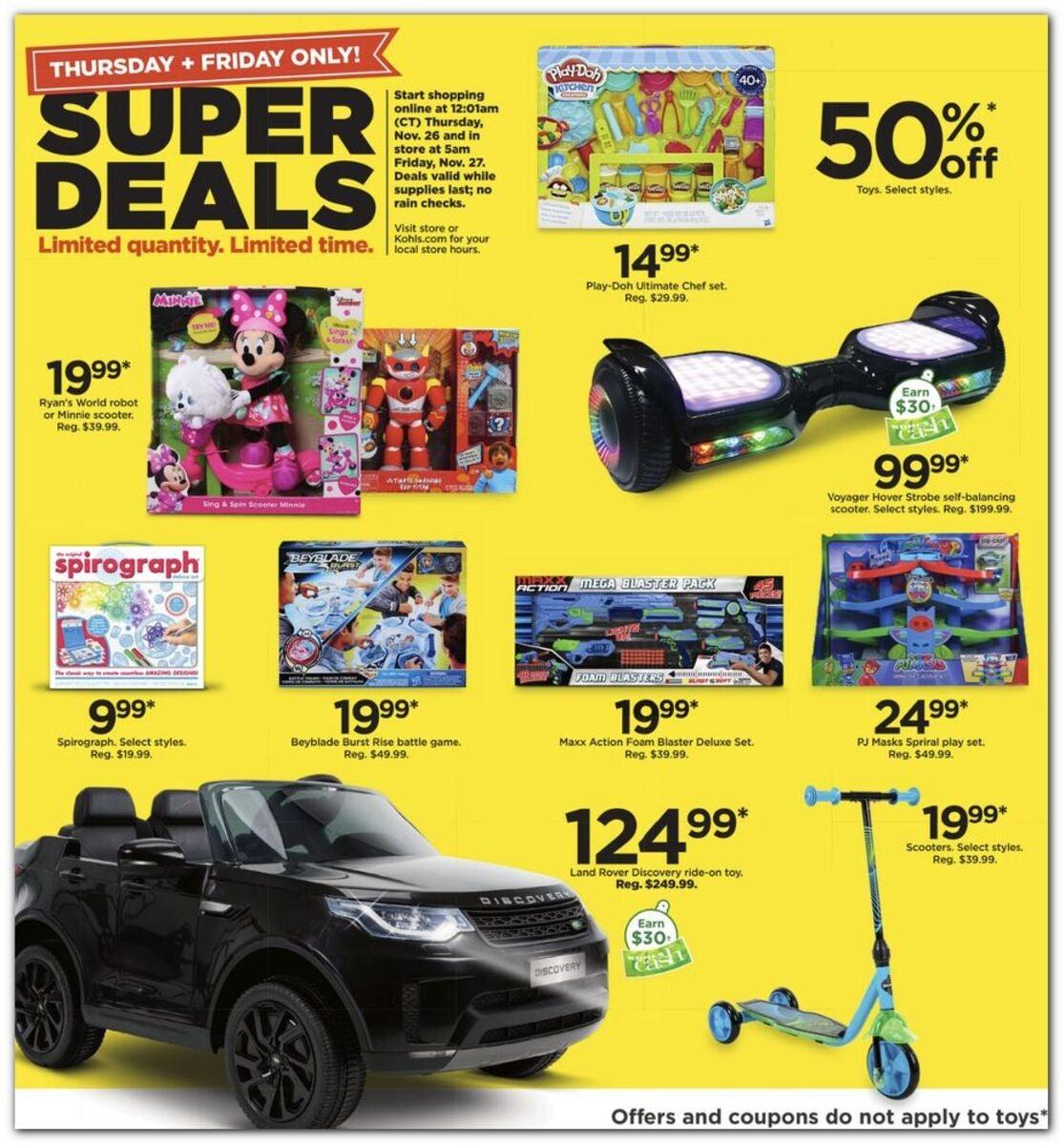Kohl S Black Friday 2020 Ad Deals Brad S Deals