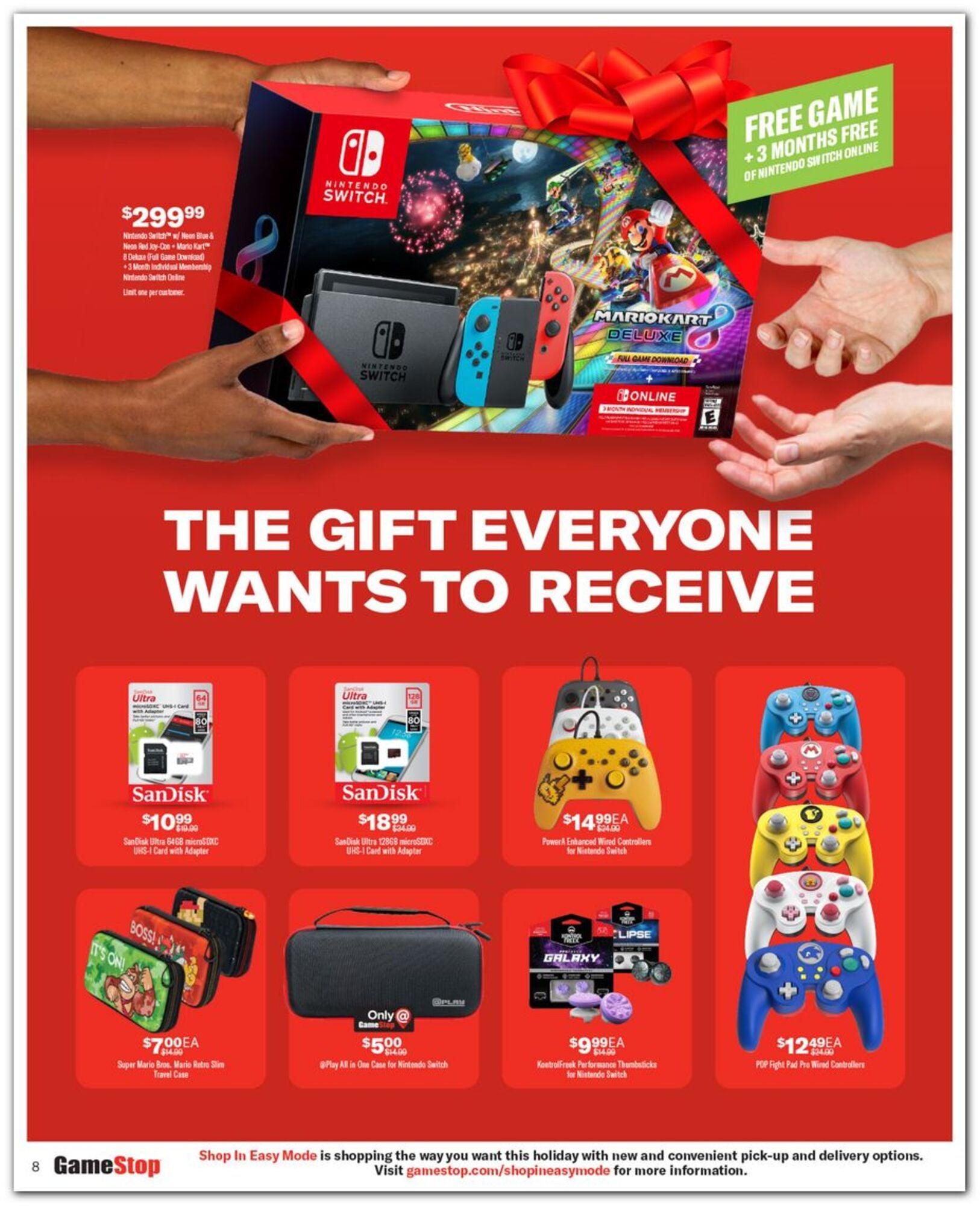 Gamestop Black Friday 2020 Ad Deals Brad S Deals