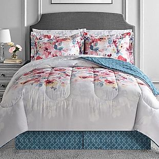 Croscill Galleria Red King Size Bed Ensemble Comforter
