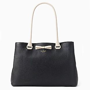 f4cd9d5564d7 Kate Spade Leather Tote  125 Shipped