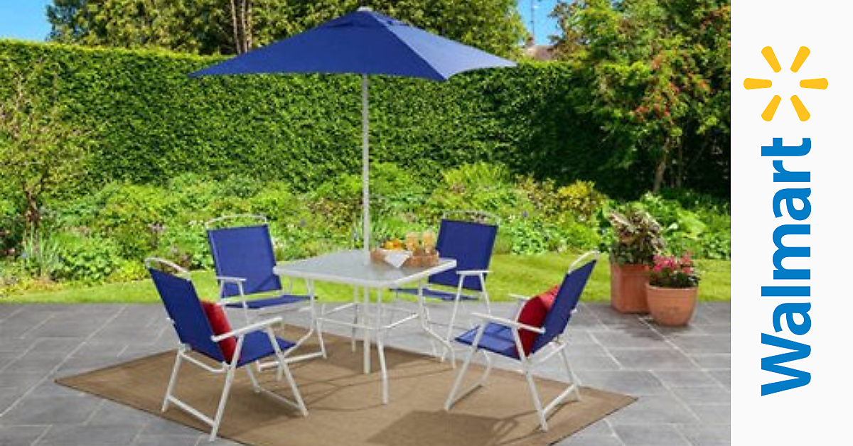 6pc Folding Patio Set 100 Shipped