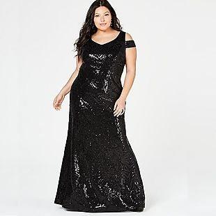 Plus-Size Formal Dresses $70