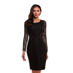 Lace Bodycon Dress 16 Shipped