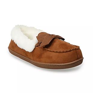 Kohl's Moccasin Slippers $10